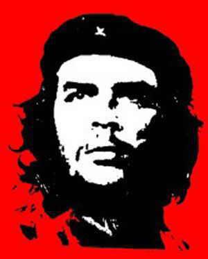 fotografía del Che